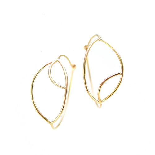 02ff92082 gold evil eye earrings | recycled gold | 14k yellow gold | 14k rose gold