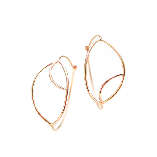 zoom solid tiny listing il gold line karat earrings earring