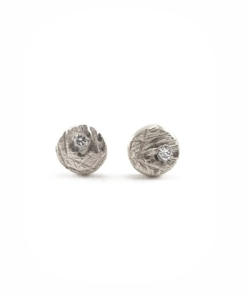 original earrings stud karenjohnson diamond platinum product
