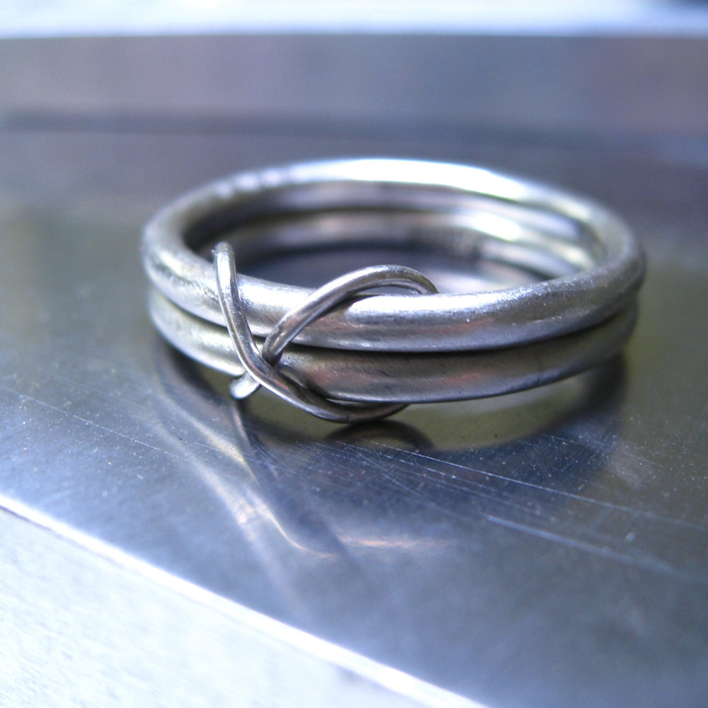 infinity palladium wedding ring - in recycled palldium - made in San Francisco - Sharon Z Jewelry - ethical jewelry.jpg