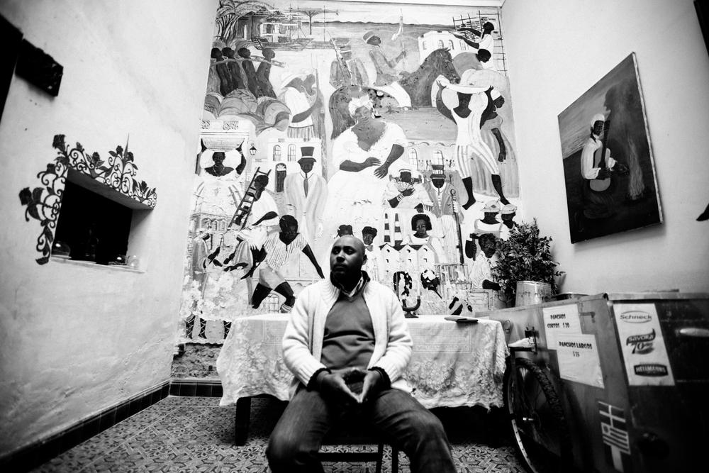 Javier Diaz.Montevideo, 2014. Pic by Cambiowashere. Nana Dijo Documentary.