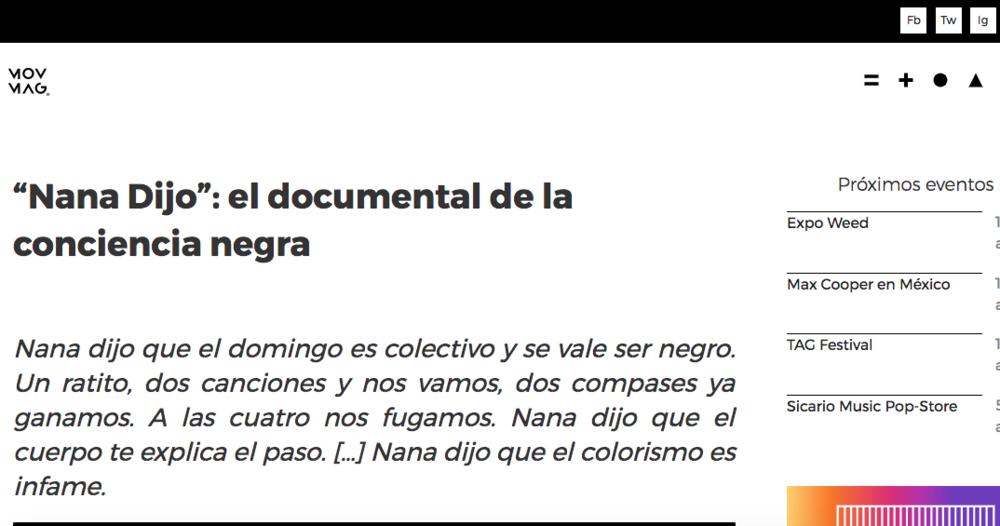 MOV MAGAZINE / ENTREVISTA COMPLETA AQUI