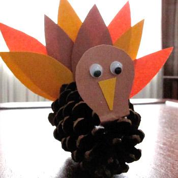 pine-cone-turkey-craft
