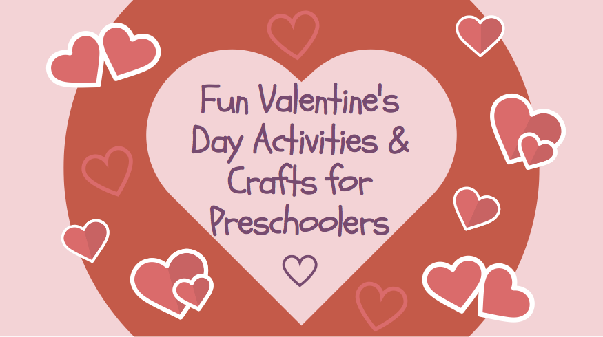 Fun Valentine S Day Activities Crafts For Preschoolers Mary