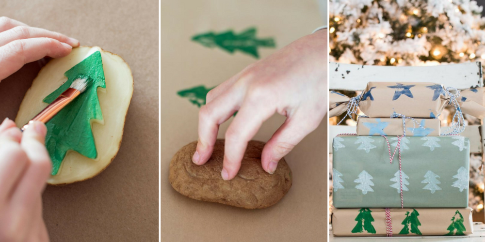 Potato Wrapping Paper