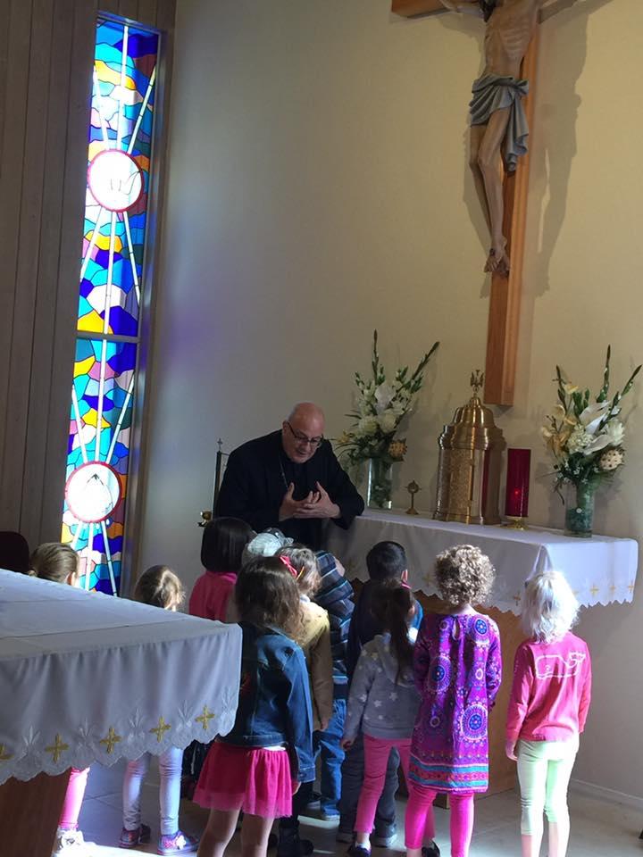 Bishop Gregory visits MMOLA