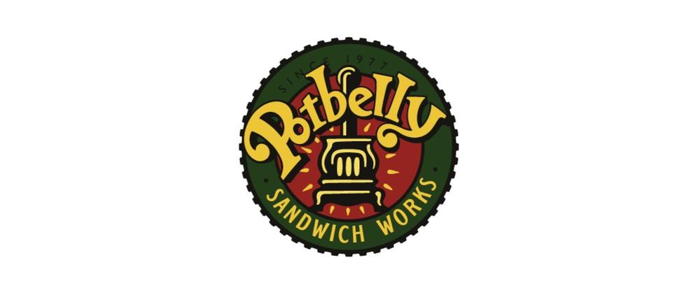 Potbelly Logo potbelly sandwich shop — bruce hale design