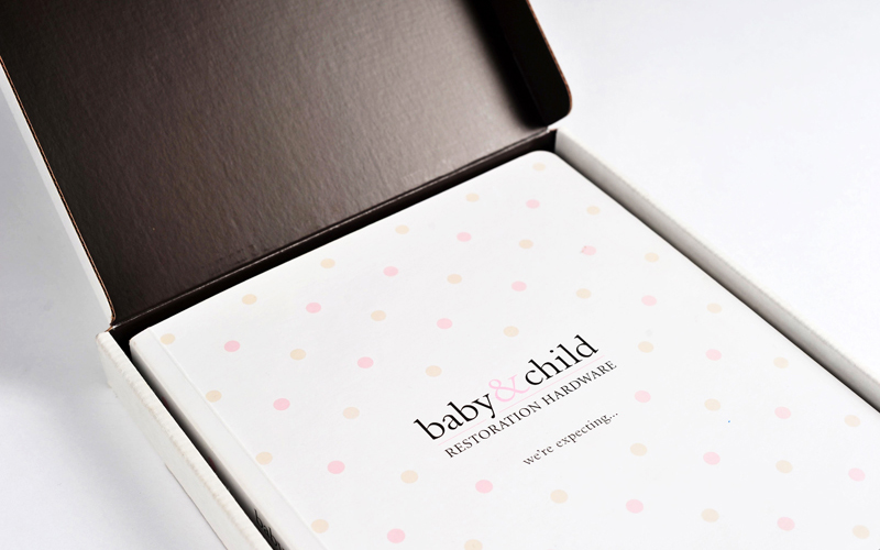 Restoration Hardware Baby Child Book Collateral Mint Sf