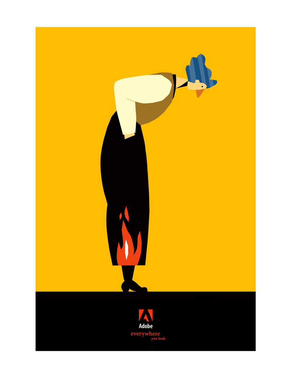 Adobe poster