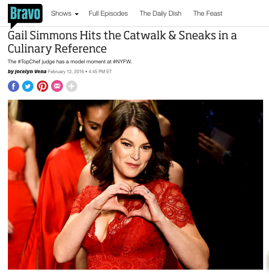 Bravo's The Daily Dish