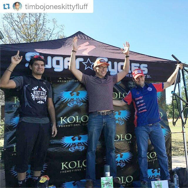 #Repost @timbojoneskittyfluff ・・・ 3rd place for the day, not to bad. And I win a free frame and fork!  Thanks Kolo great course and a great race as always. #timmyteamacw #teamacw #aussiecycleworks #dirtysinglespeeder #carbondrive #velocityusa @kolopromo