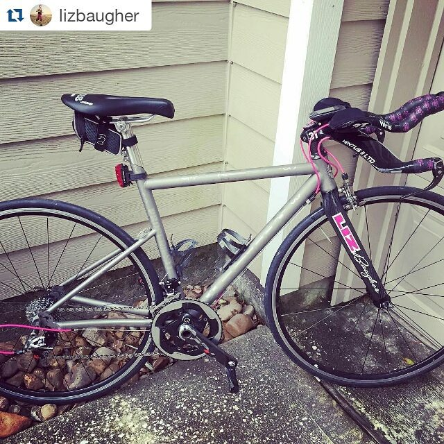 #Repost @lizbaugher with @repostapp ・・・ AM drop off, PM pick up. Great service today to get me back on the road by tomorrow. Thanks @aussiecycleworks for comfort and speed!