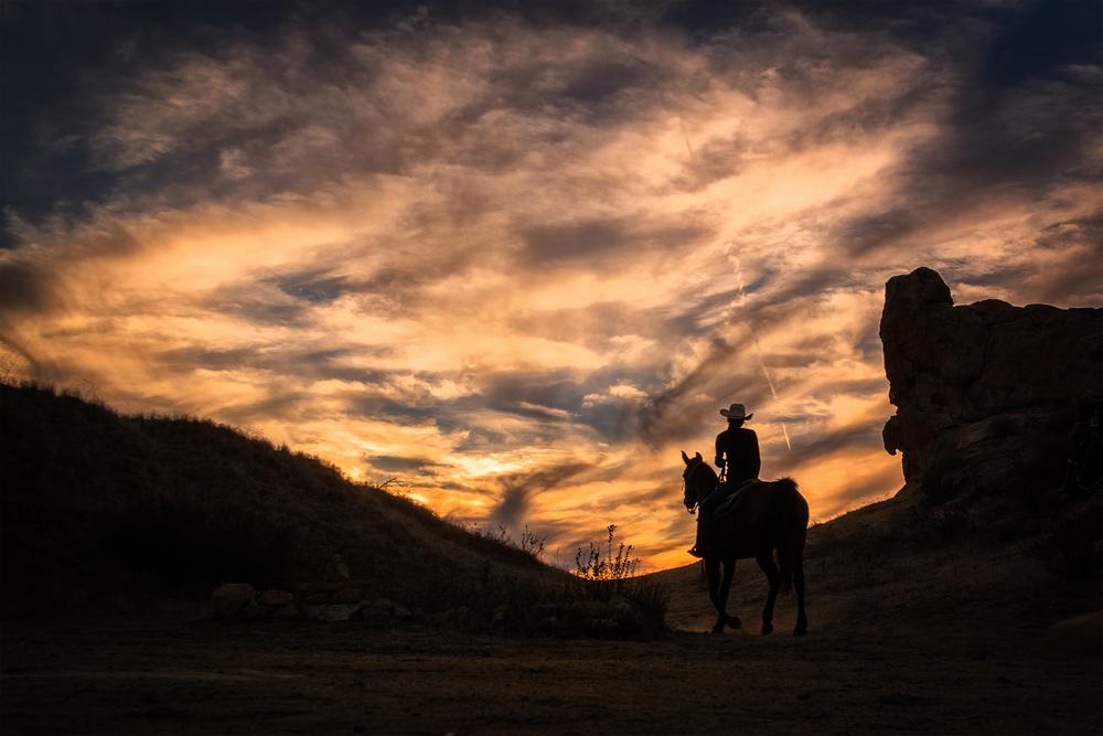 Wasim_Muklashy_Cowboy_Topanga_Sunset_Photography_Silhouette