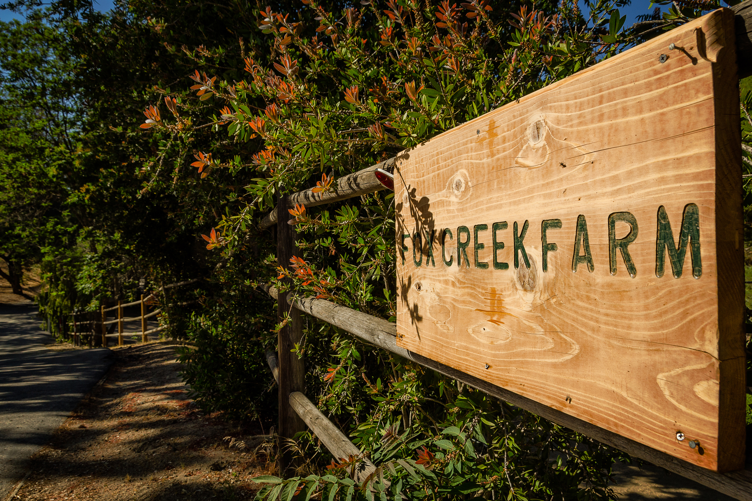 Fox Creek Farm. Mulholland. Calabasas, California. Wasim Muklashy Photography
