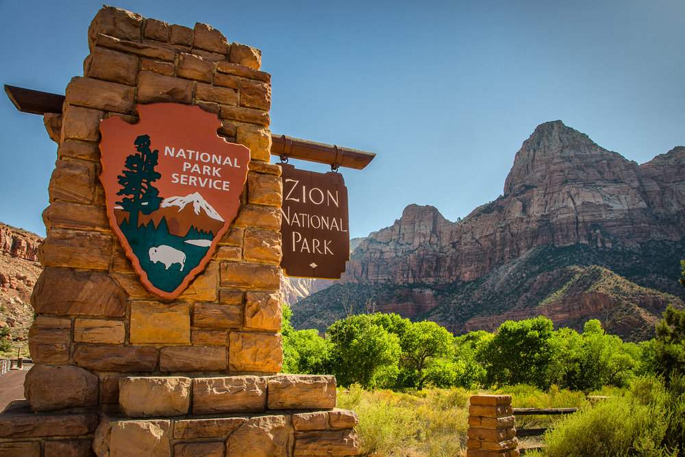 Zion National Park, Utah Entrance. Wasim Muklashy Photography.