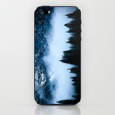 Yosemite_Snow_Fog_California_iPhone_Case
