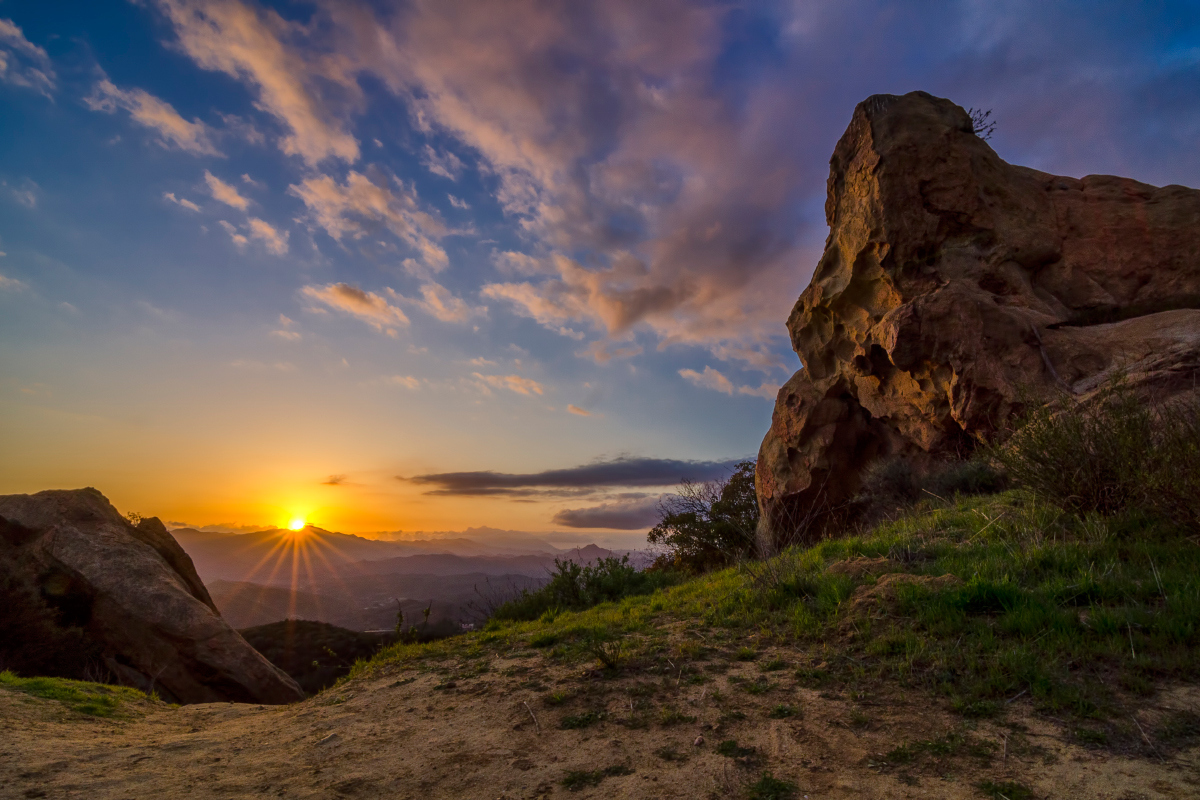 Worth The Climb_Topanga_Canyon_California_Sunset