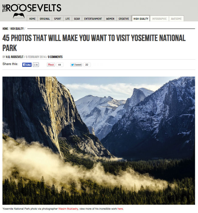 Roosevelts_Wasim_Muklashy_Yosemite