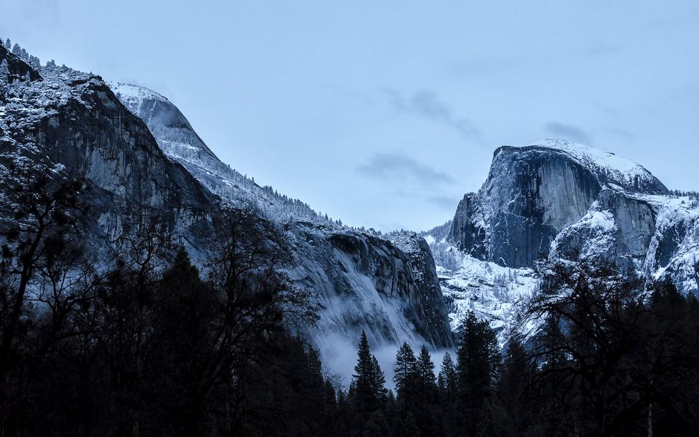 Wasim Muklashy Photography_Apple OS X Yosemite_half dome after the storm.
