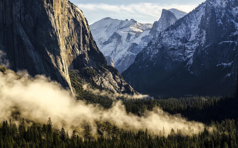 Wasim Muklashy Photography_OS X Yosemite_Tunnel View