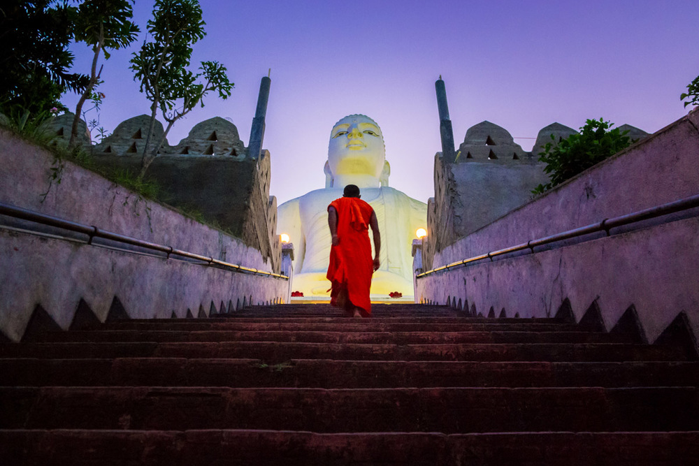 Kandy Sri Lanka Bahiravokanda Vihara Buddha Statue, Wasim Muklashy Photography, Wasim of Nazareth