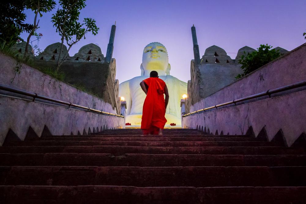 Bahiravokanda Vihara Buddha Statue, Kandy Sri Lanka, Wasim Muklashy Photography, Wasim of Nazareth