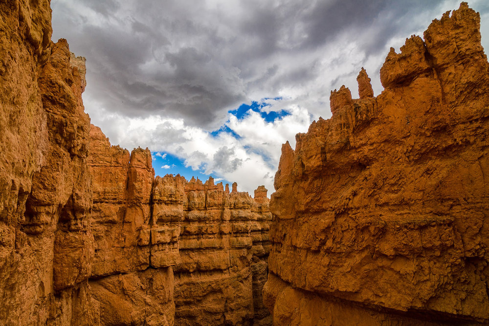 Hoodoos.Bryce Canyon National Park, Utah.Summer 2013.