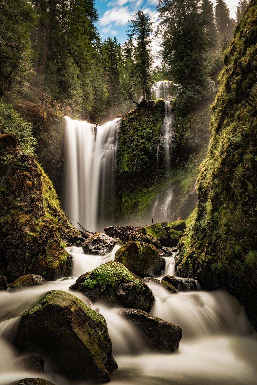 Falls Creek Falls, Gifford Pinchot National Forest, Washington ©Wasim Muklashy
