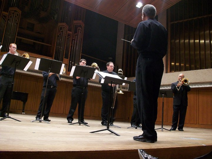 UT Trombone Choir w/Joseph Alessi
