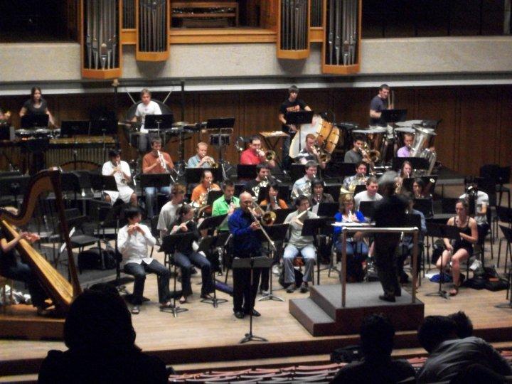UT Wind Ensemble w/Joseph Alessi
