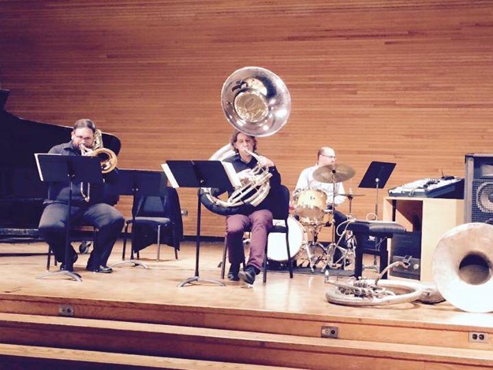 Bass Trombone/Sousaphone duet with Jason Smith