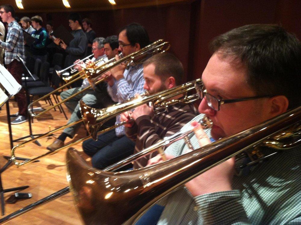 Bass Trombone on Mendelssohn's Elijah w/Notre Dame Festival Orchestra