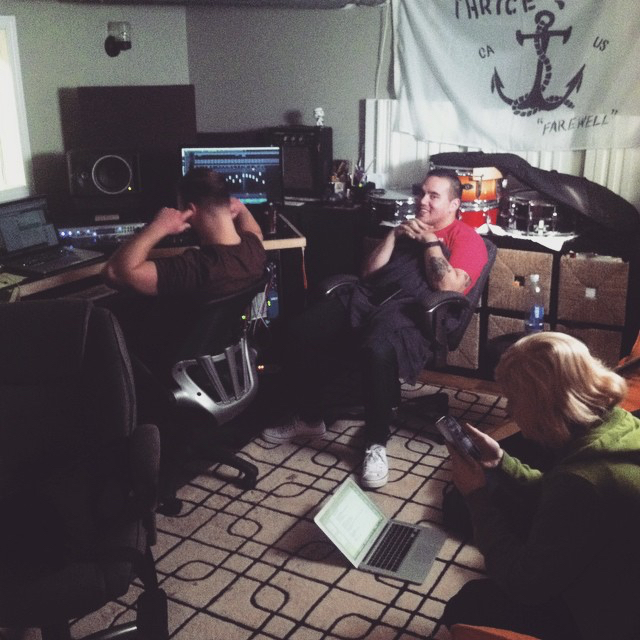 Final mixing sesh. Joe's so done.  Recording  Better Days  at  Hey Charlie Studios .