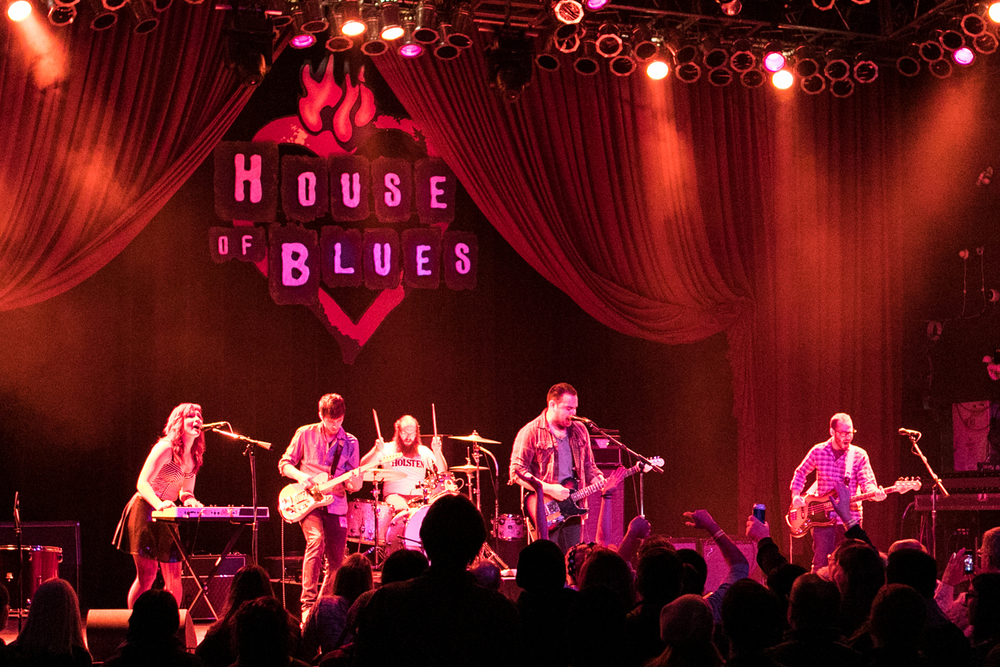 House of Blues, Chicago, IL, January 2015.  Credit to  John Kosiewicz .