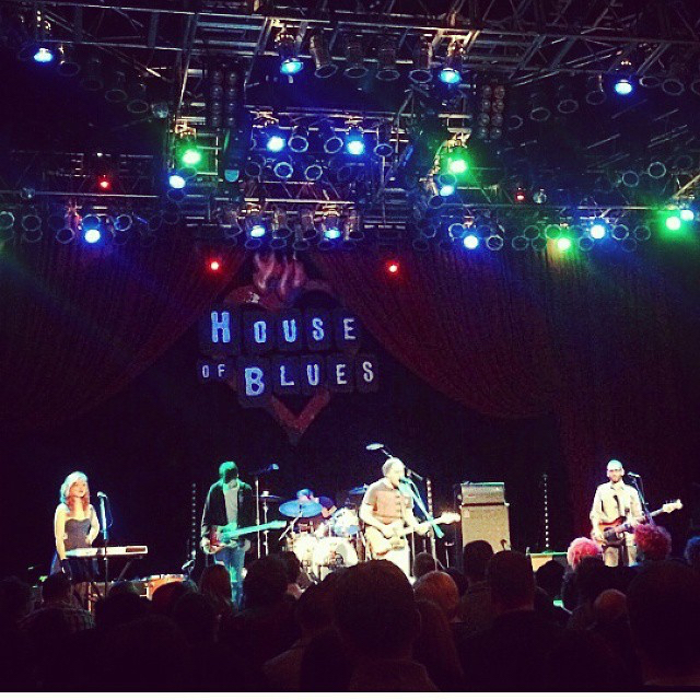 House of Blues, Chicago, IL, October 2014. Opening for Meg Meyers.   Thanks to Bill Radovich!
