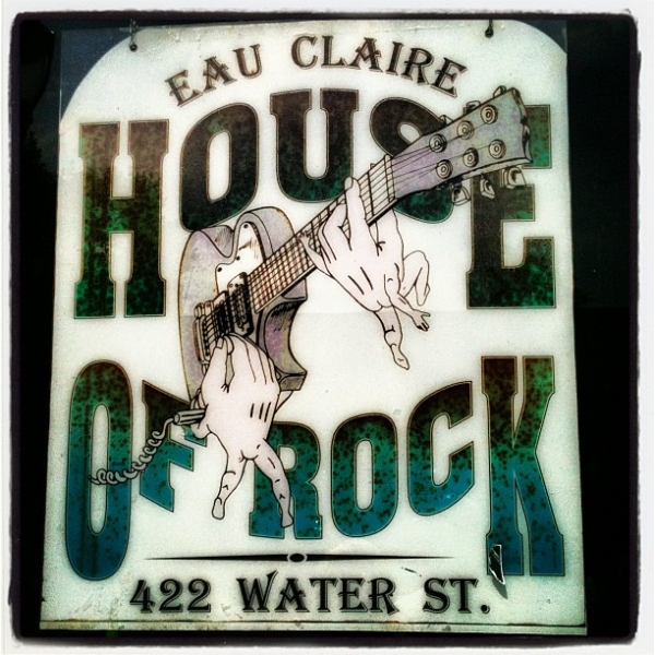 House of Rock, Eau Claire, WI.  Summer 2012