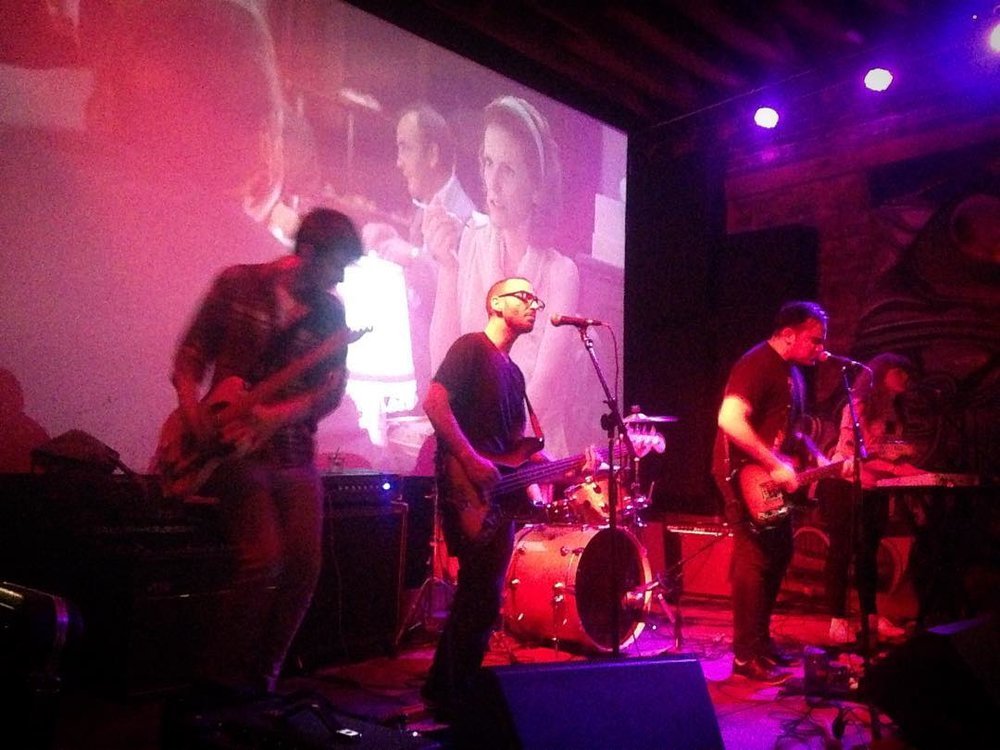That time we played in front of a screening of  Freddy Got Fingered .  Spring 2016