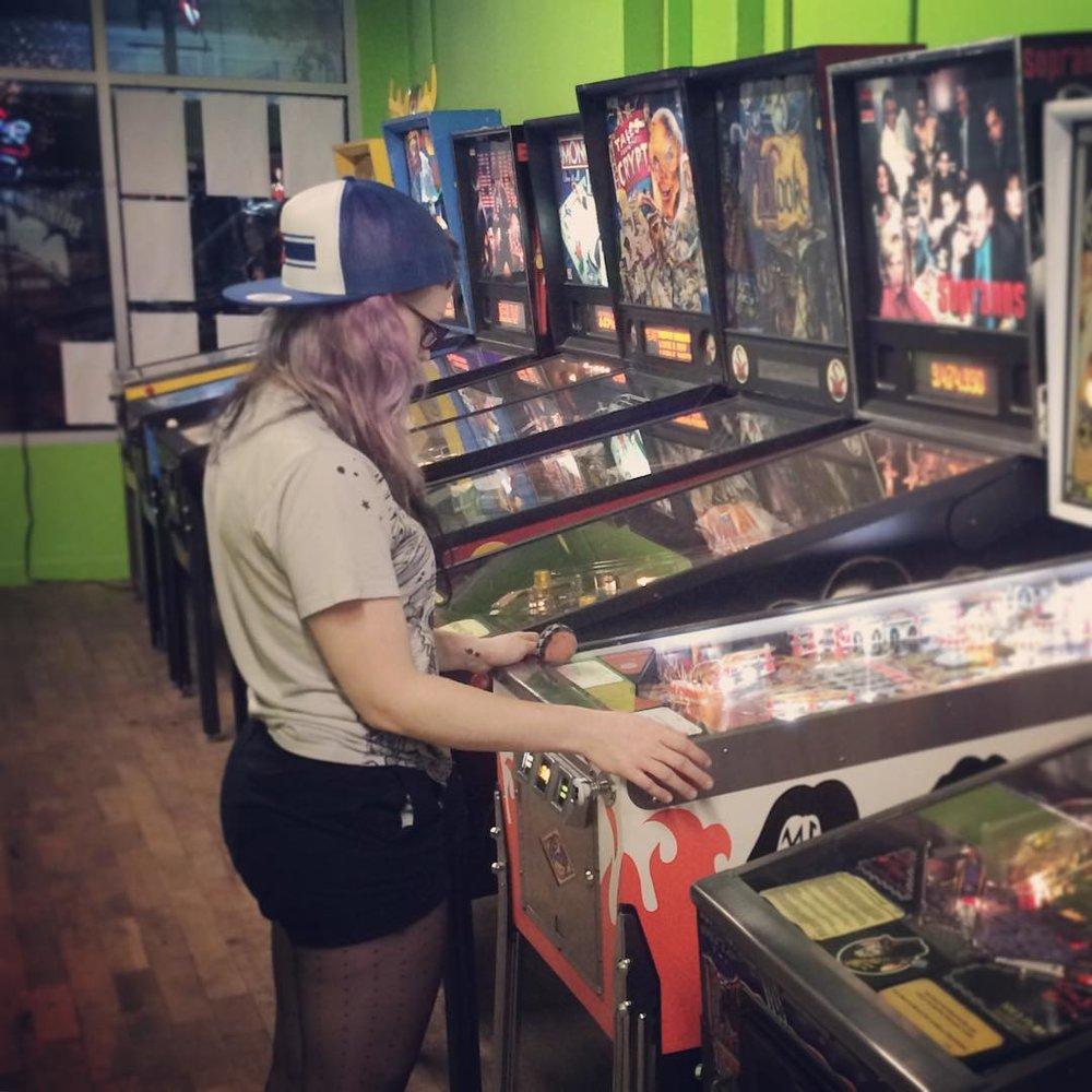 Pinball in Canton.  Spring 2016