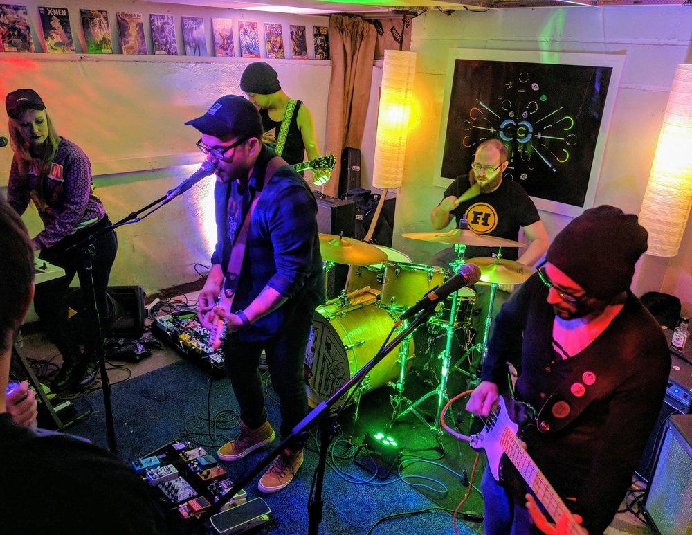 Fam Fest, Dekalb, IL, December 2017.