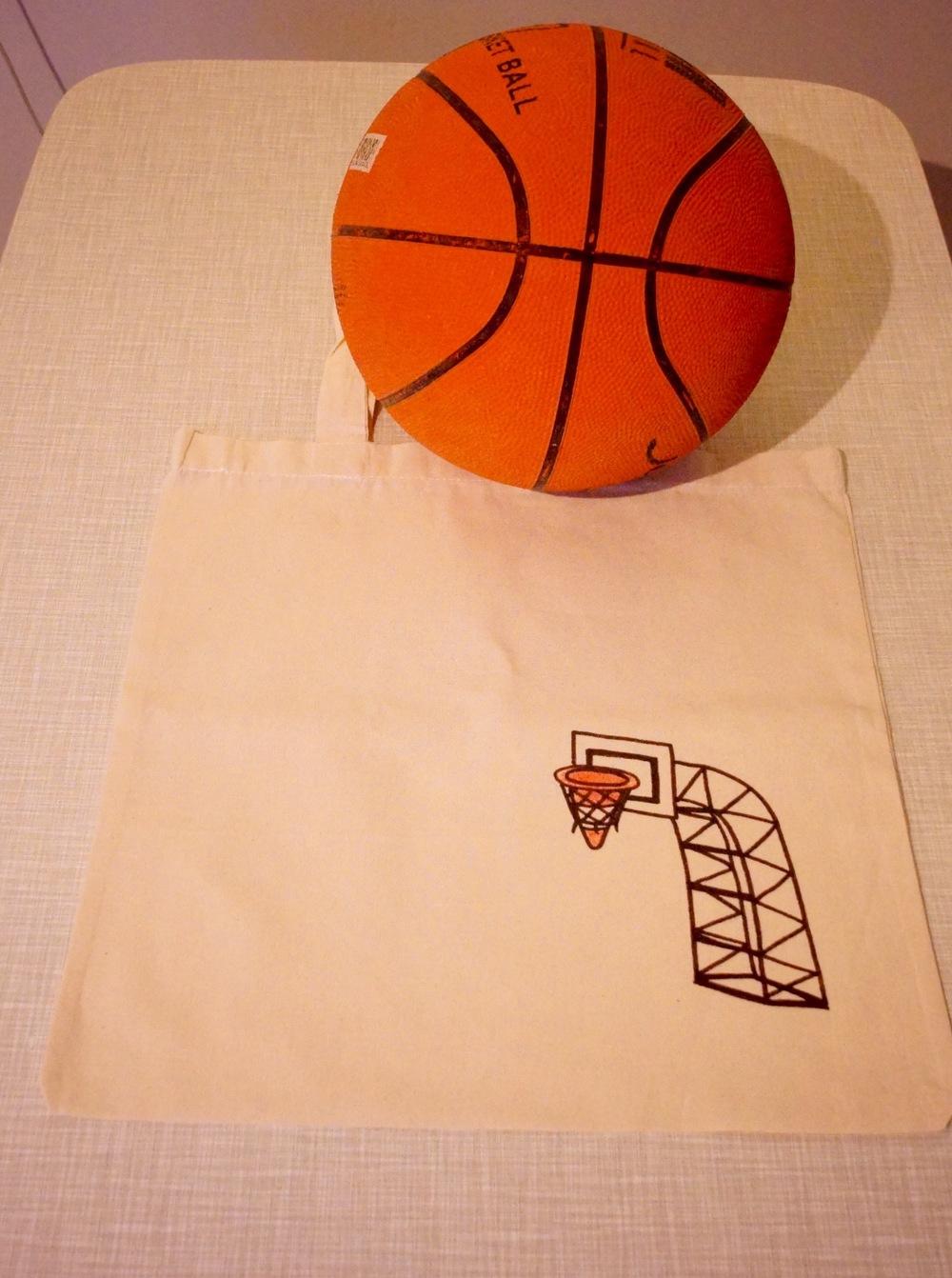 An extremesports bag.