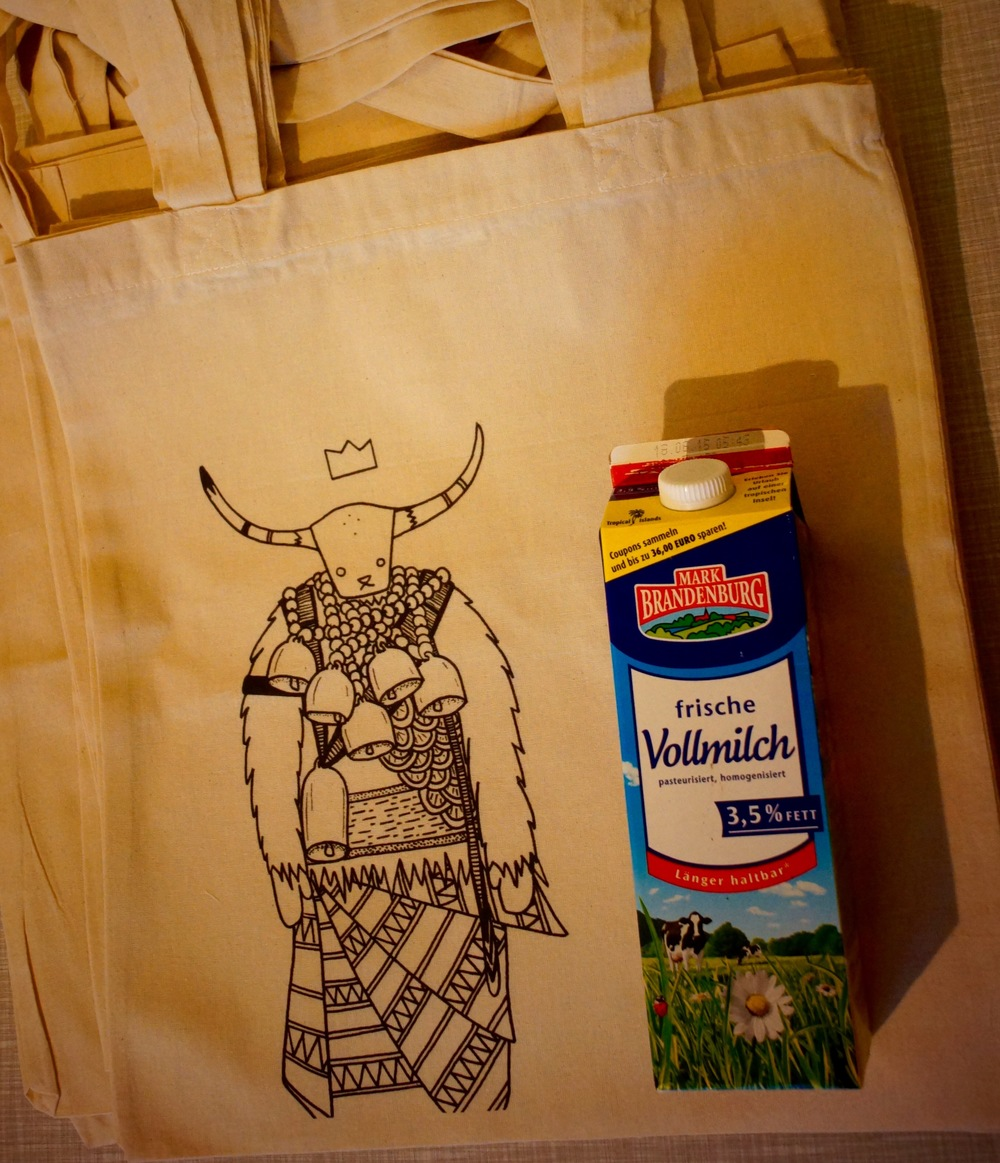A grocery bag type 1.