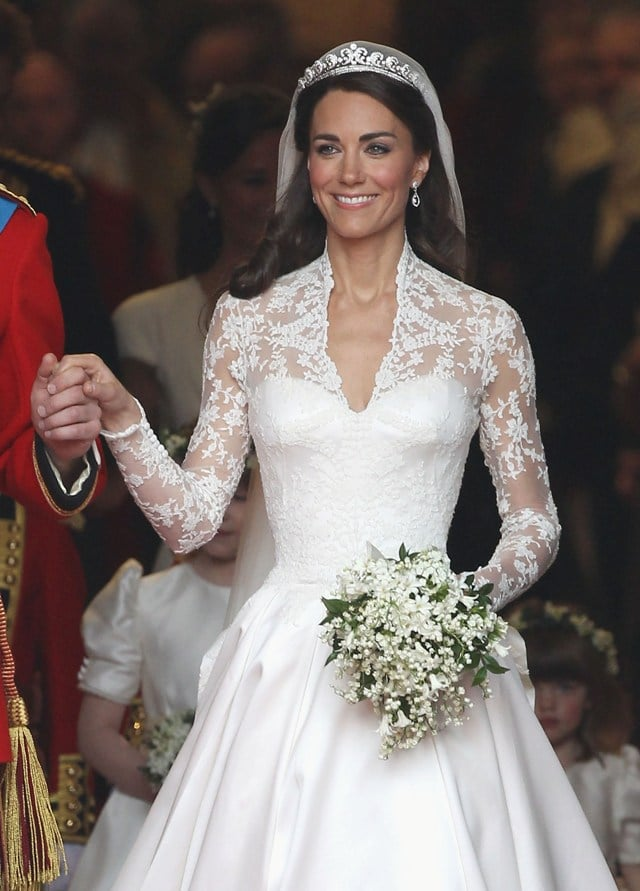Kate inspired a resurgence of lace.