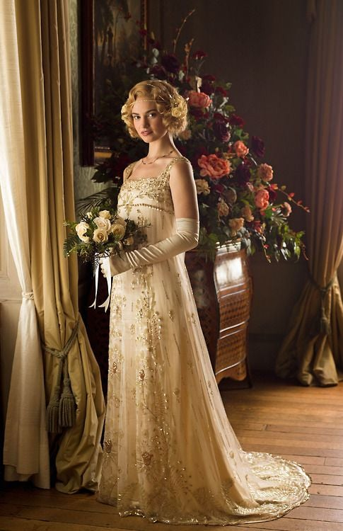 Downton has been a major influence on all sorts of fashions.