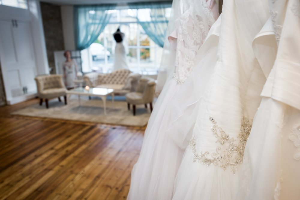 Bridal Boutique in Saltaire, West Yorkshire. - We offer Designer Wedding Dresses to suit any bride's style and budget.  Our highly trained staff provide the utmost in customer service and look forward to guiding you in finding the bridal gown of your dreams.