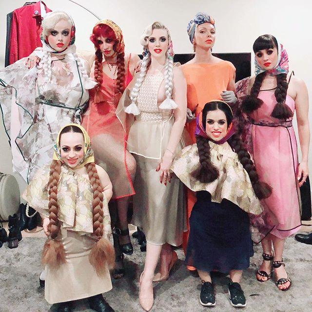 Babuska Dolls 🌹  @ellenvonunwerth #ellenvonunwerth Happy Birthday 🎊 #aproncouture