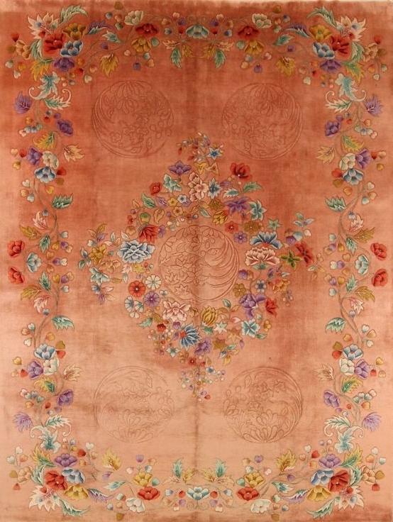 Chinese deco nichols style rug anouska tamony designs £2500 anouska tamony designs £2500