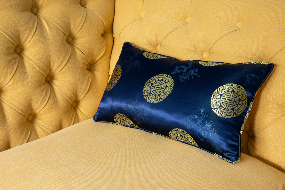 Anouska Tamony Boutique- Couture Seven Terraces Oriental Cushion- £70