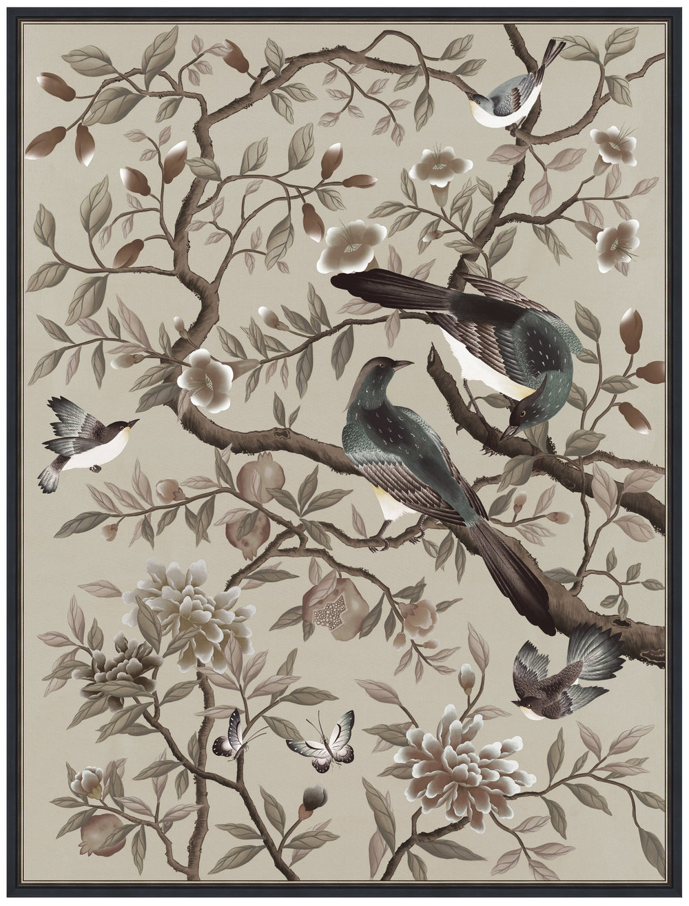 Diane Hill- Chinoiserie print- From £45