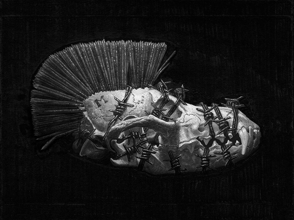 "Melankolia, 12.00"" x 9.00"" (30.5cm x 22.9cm) Digital,Matthew G. Lewis (2015)"