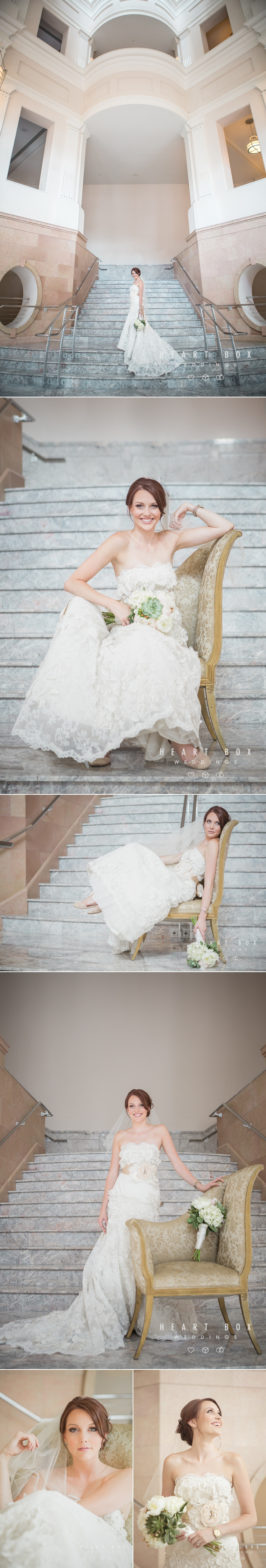 Bass Hall Bridal Session